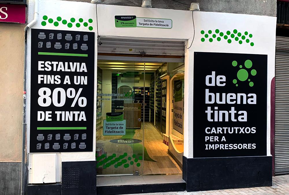 Nueva tienda asociada Debuenatinta Igualada