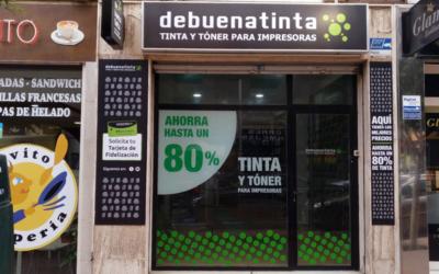 Nueva tienda asociada Debuenatinta Almería