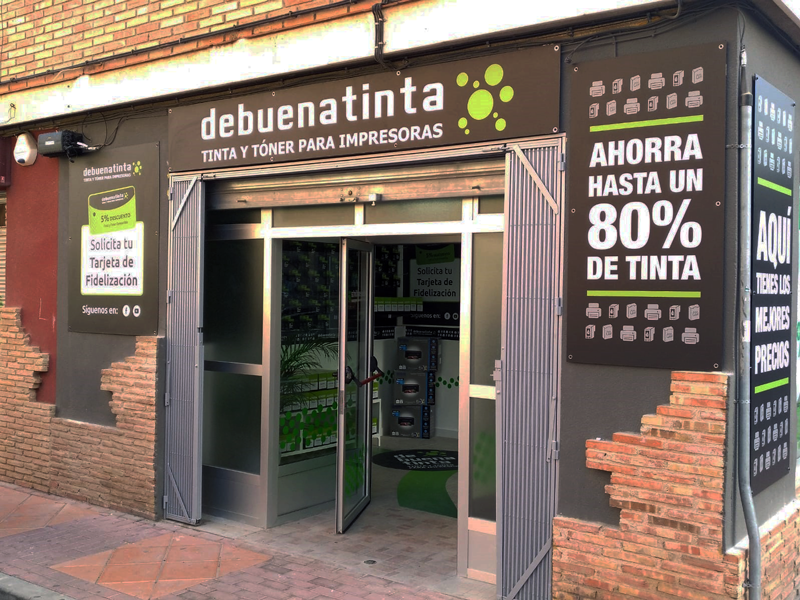 Nueva tienda asociada Debuenatinta Murcia