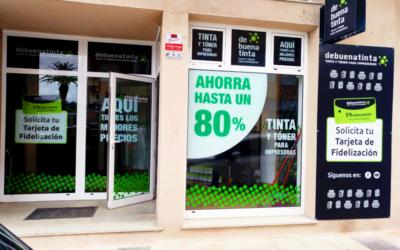 Nueva tienda Debuenatinta Ribadeo