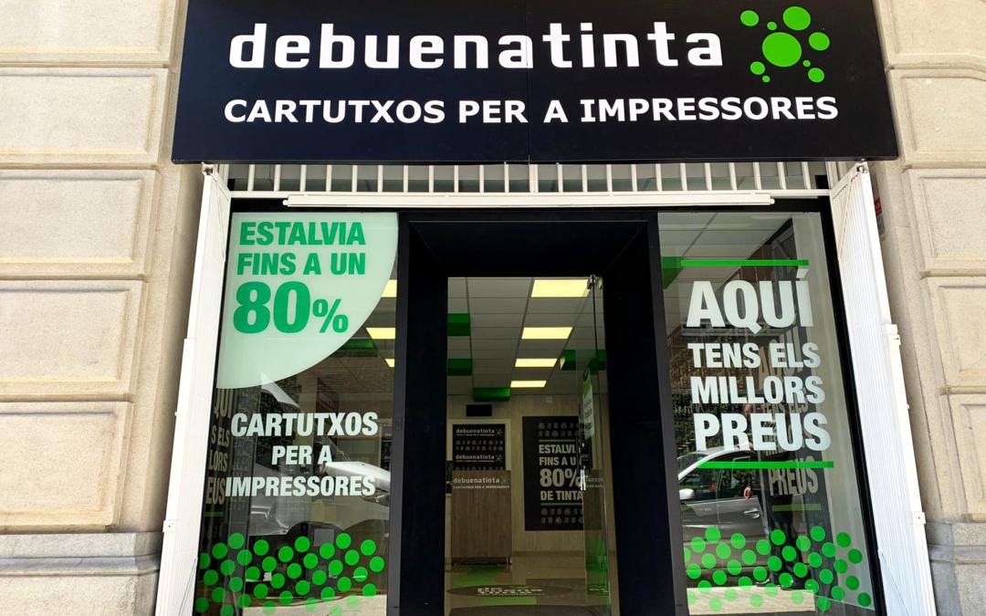 Debuenatinta abre su sexta tienda de 2019 en Manresa