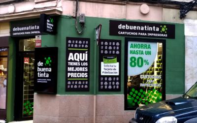 Nueva tienda Debuenatinta en el barrio madrileño de Chamberí